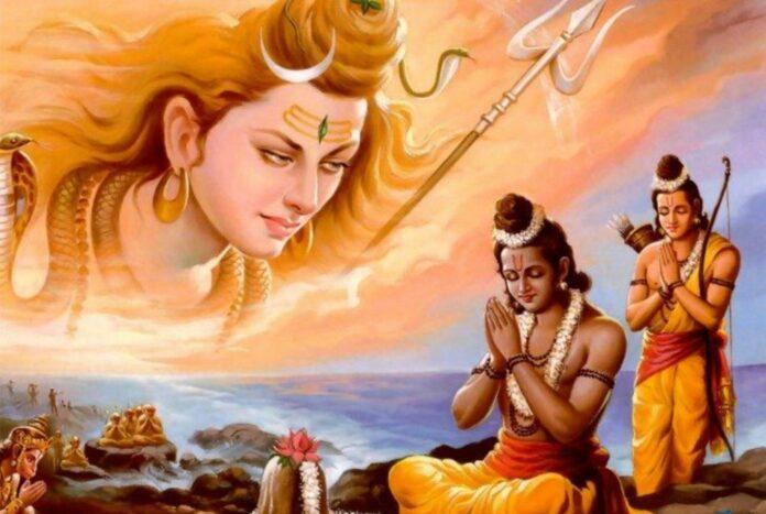 Lord-Rama-and-Lord-Shiva