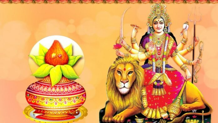 Navaratra Me Devi Puajan And Vrat Ki Vidhi And Mahatmya